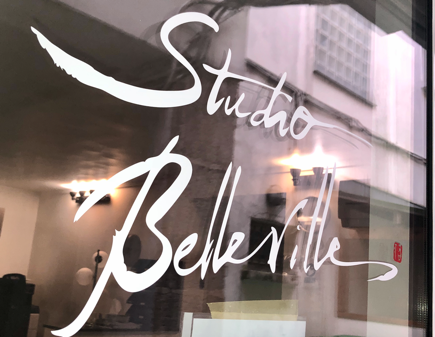 Vitrine Studio Belleville