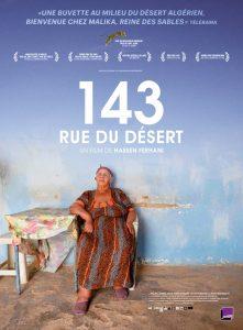 Affiche 143 rue du Désert de Hassen Ferhani, au cinéma ce mercredi.